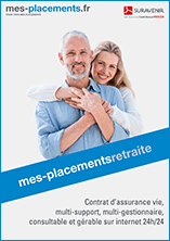 plaquette mes placements retraite